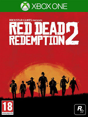 Red Dead Redemption 2 (Xbox One)  NEW AND SEALED - IN STOCK - QUICK DISPATCH