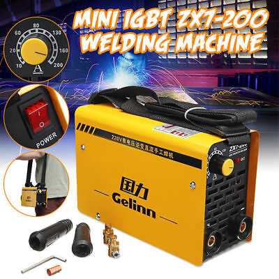 Welding Inverter Welder Machine Waterproof Single phase Mini MMA IGBT Useful