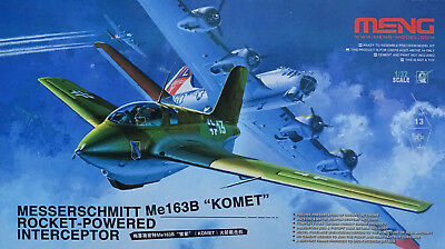 MENG MODEL QS-001 Me163B Komet Rocket-Powered Interceptor in 1:32