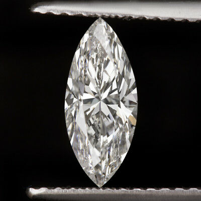 1 Carat Gia Certified F Si2 Marquise Shape Cut Diamond 10Mm Engagement Natural