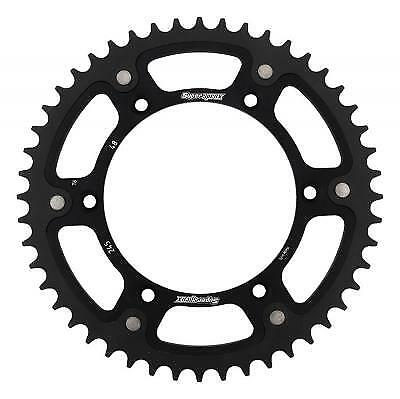 Supersprox Stealth Black Rear Sprocket 520 Pitch / 48 Teeth Yamaha YZ 490 H 1987