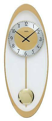AMS 7417 - Wall Clock - Pendulum Clock - New