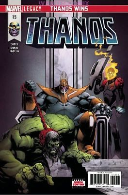 Thanos #15 First Print Ghost Rider Frank Castle Punisher Donny Cates New 1 2018