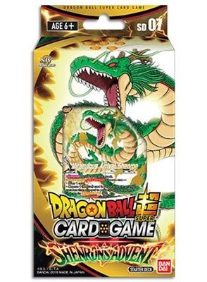 DragonBall Super Card Game - Starter Deck Shenron's Advent :: Brand New And Seal