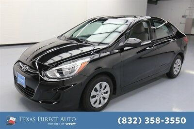 2017 Hyundai Accent SE Texas Direct Auto 2017 SE Used 1.6L I4 16V Automatic FWD Sedan