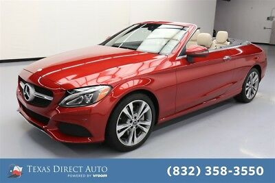 2017 Mercedes-Benz C-Class C 300 Texas Direct Auto 2017 C 300 Used Turbo 2L I4 16V Automatic AWD Convertible