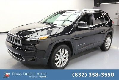 2015 Jeep Cherokee Limited Texas Direct Auto 2015 Limited Used 3.2L V6 24V Automatic 4WD SUV