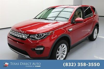 2016 Land Rover Discovery Sport HSE Texas Direct Auto 2016 HSE Used Turbo 2L I4 16V Automatic 4WD SUV Moonroof