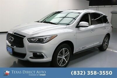 2017 Infiniti QX60  Texas Direct Auto 2017 Used 3.5L V6 24V Automatic AWD SUV Moonroof Premium