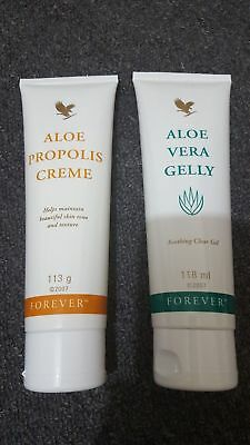 New-Forever Living Propolis Creme & Aloe Vera Gelly 113g ** ORGANIC MADE **