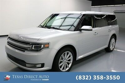 2018 Ford Flex Limited Texas Direct Auto 2018 Limited Used 3.5L V6 24V Automatic FWD SUV