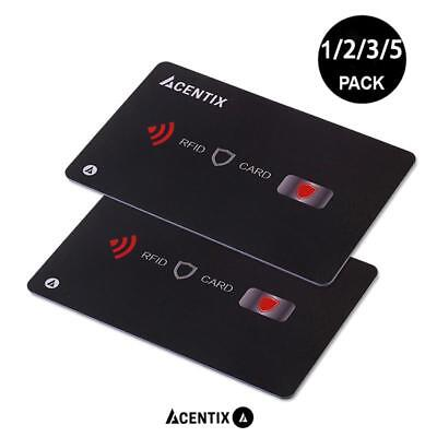 RFID/NFC Blocking Credit/Debit Card Protector Contactless Signal Blocker Wallet