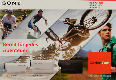 Sony Action Cam HDR-AZ1 / HDR-AS100V / HDR-AS20 -  Prospekt
