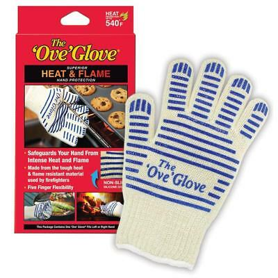 The Ove Glove Heat Protection Upto 540F Non-Slip Surface Washable Glove