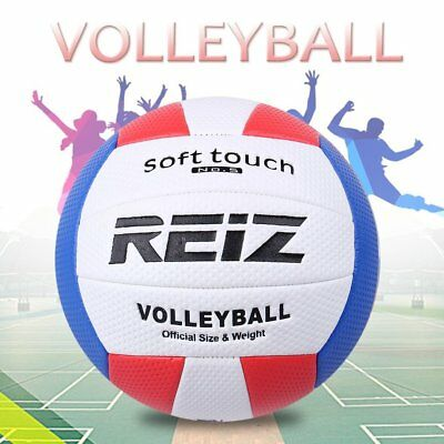 Soft Touch PU Leather 5# Volleyball Ball Training Competition Volleyball Ball NC