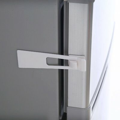 Baby Child Safety Protect Locks Fridge Guard Cupboard Door Drawer Safety Latch N