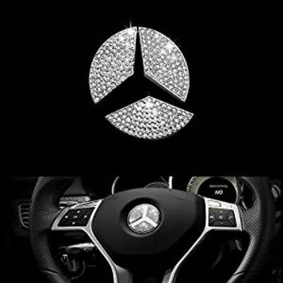 CRYSTAL INSERT Mercedes Benz A B C E G S G SL key shell cover case holder chain