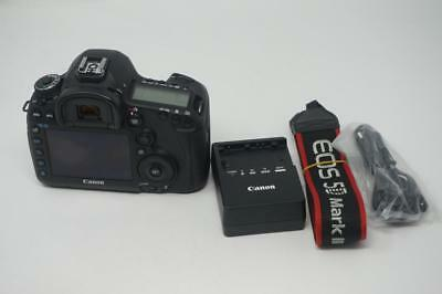 Very Good Used Canon EOS 5D Mark III 22.3MP DSLR Camera Body Only G063