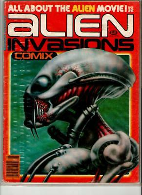 Warren Présente No 3 Alien Invasion 1979 VG