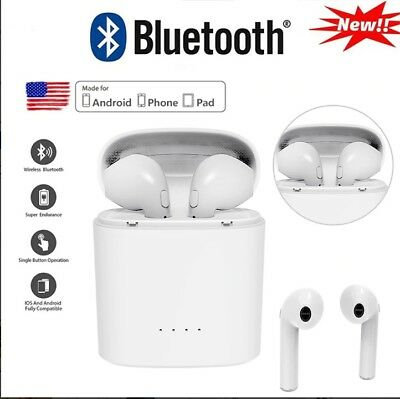 """""""NEW-Wireless Bluetooth Earbuds Headset true stereo Headphone for android&iphone"""