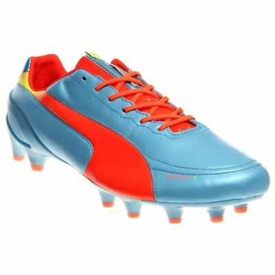 7c1379fdf4a9 PUMA EVOSPEED 17 Sl-S Bell Df Fg Mens Red Synthetic Athletic Soccer ...