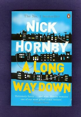 Nick Hornby A LONG WAY DOWN Suicide Jump Off Topper's House London HIGH FIDELITY