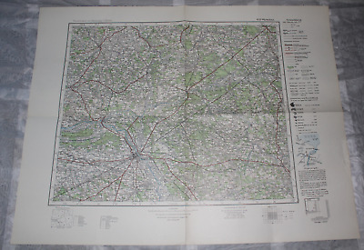 Map Outline Map of Central Europe 1:3 00000 R 53 Warsaw
