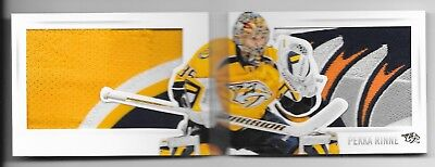 13-14 Panini Playbook Split Decisions Patch #Sd-Pri Pekka Rinne 10/10 6Cl