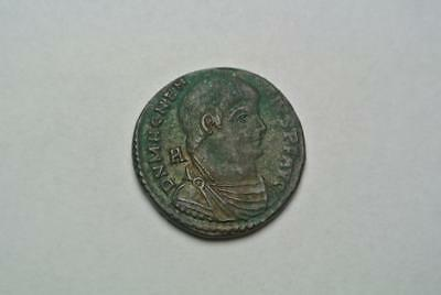 Magnentius ? Roman Bronze Coin, Extremely High Grade! - C7201