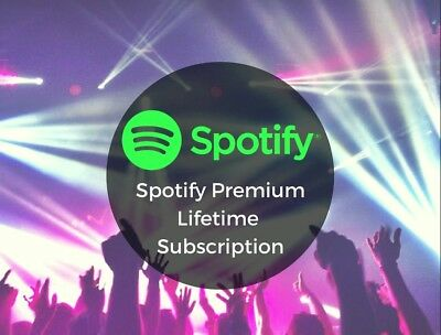Spotify Premium - LIFETIME Warranty - Your Own Acc - 1 hr delivery - Worldwide
