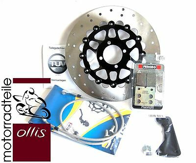 BMW R 100 GS '88-'96 - 300 mm front brake conversion - incl. all required parts