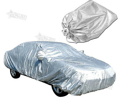 Full Car Cover Uv Protection Medium Waterproof Outdoor Elastic