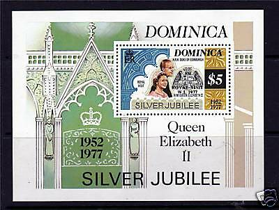 Dominica 1977 Silver Jubilee MS SG 567 MNH