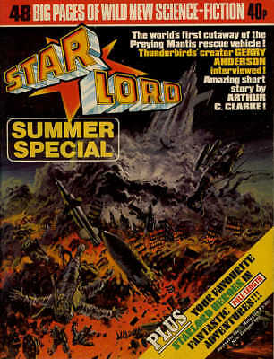 STARLORD - SUMMER SPECIAL 1978 (Pre 2000AD ft JUDGE DREDD) - VERY GOOD CONDITION