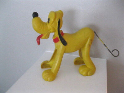 Vintage Pluto The Dog Walt Disney Wdp By Marx Windup Working Condition Free Ship