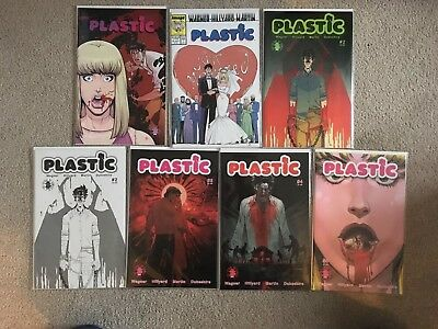Plastic #1 (April Fools & 25Th Anni Variants) #2 (Spawn) #3-#5 - Complete Image