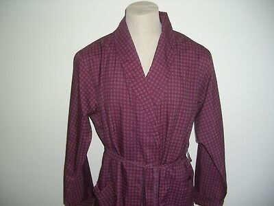 Vintage Retro St Michael Ms Mens Dressing Gown Robe Night Lounge