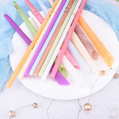 10PcsEarwax Candles Hollow Blend Cones Beeswax Ear Cleaning Massage TreatmentPEH