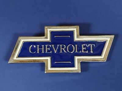 New Old Stock Chevy Chevrolet Bow-Tie Metal Belt Buckle Made In Usa