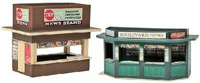 Walthers Cornerstone Ho Scale 1/87 News Stands (2) | Bn | 933-3773