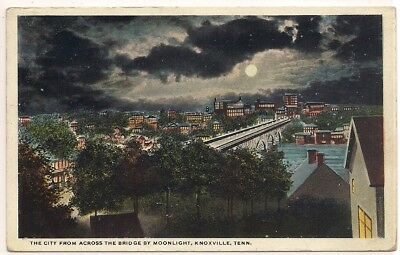 Knoxville Tn Tenn Tennessee Knox County Postcard