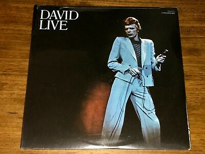 David Bowie ~ Live At The Tower Philadelphia Original First Press 2-Lp ~ Sealed
