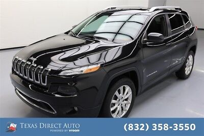 2015 Jeep Cherokee Limited Texas Direct Auto 2015 Limited Used 2.4L I4 16V Automatic 4WD SUV