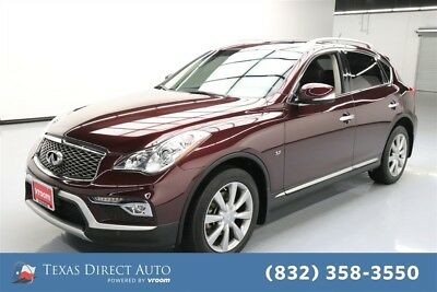 2016 Infiniti QX50  Texas Direct Auto 2016 Used 3.7L V6 24V Automatic AWD SUV Premium