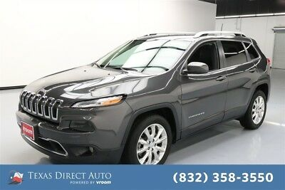 2016 Jeep Cherokee Limited Texas Direct Auto 2016 Limited Used 2.4L I4 16V Automatic FWD SUV