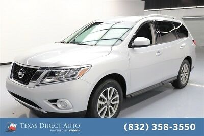 2016 Nissan Pathfinder 4x4 S 4dr SUV Texas Direct Auto 2016 4x4 S 4dr SUV Used 3.5L V6 24V Automatic 4WD SUV