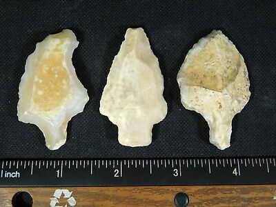 A Lot of Early MAN Aterian Lithic Artifacts 55,000 to 12,000 Years Old 43.8gr e