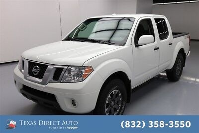 2018 Nissan Frontier PRO-4X Texas Direct Auto 2018 PRO-4X Used 4L V6 24V Automatic 4WD Pickup Truck Premium