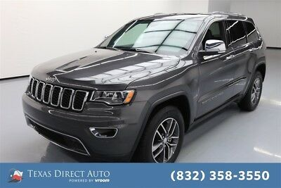 2018 Jeep Grand Cherokee Limited Texas Direct Auto 2018 Limited Used 3.6L V6 24V Automatic RWD SUV Moonroof