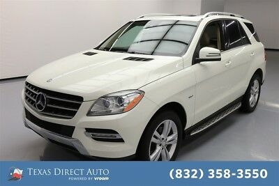 2012 Mercedes-Benz M-Class ML 350 Texas Direct Auto 2012 ML 350 Used 3.5L V6 24V Automatic AWD SUV Moonroof